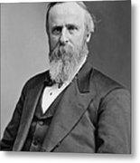President Rutherford Hayes Metal Print