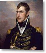 President William Henry Harrison Metal Print