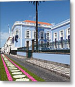 Presidential Palace - Azores Metal Print