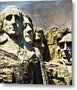 Presidential Rocks Metal Print
