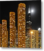 Presidential Towers Chicago Metal Print