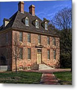 President's House College Of William And Mary Metal Print