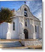 Presidio Chapel San Elizario Texas Metal Print