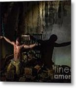 Kidnaped Metal Print