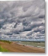 Presque Isle Beach 12061 Metal Print