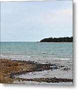 Presque Isle Harbor Metal Print