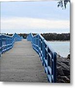 Presque Isle Pier Metal Print
