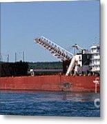 Presque Isle Ship Metal Print