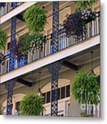 Pretty Balcony Metal Print