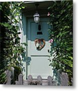 Pretty Door In Nether Wallop Metal Print