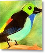 Pretty Paradise Tanager Metal Print