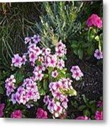 Pretty Pink Flowers Metal Print