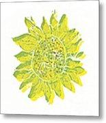 Pretty Sunflower  Metal Print by Lynn-Marie Gildersleeve