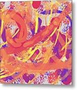 Primary Colours Metal Print