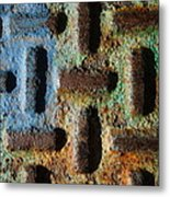 Primary. Secondary..rust... Metal Print