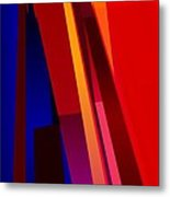 Primary Skyscrappers Metal Print