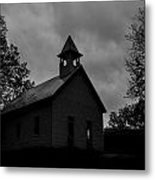 Primitive Church Metal Print