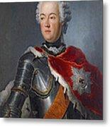 Prince Augustus William Oil On Canvas Metal Print