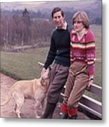 Prince Charles And Lady Diana Metal Print by Retro Images Archive