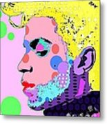 Prince Metal Print by Ricky Sencion