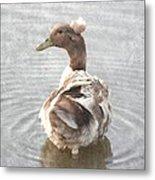 Princess Ducky Metal Print