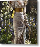 Princess Elvina Of Bavaria Metal Print
