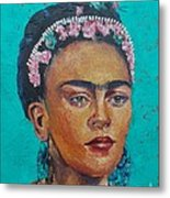 Princess Frida Metal Print
