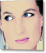 Princess Lady Diana Metal Print