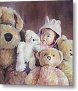 Princess Layla And Friends Metal Print by Gabriele Baber