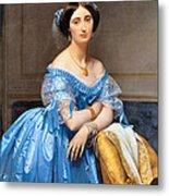 Princesse Albert De Broglie Nee Josephine Eleonare Marie Pauline De Galard De Brassac De Bearn Metal Print