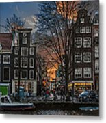 Prinsengracht 743. Amsterdam Metal Print