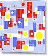 Print No 65 Metal Print