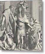 Print Of Aegidius Le Maistre 1665, Upper Part Metal Print