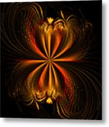 Printemps Papillon - Abstract Expressionism Metal Print
