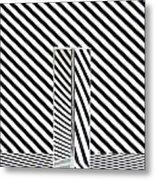 Prism Stripes 1 Metal Print