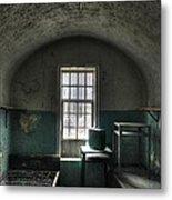Prison Cell Metal Print