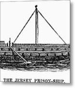 Prison Ship: Jersey Metal Print by Granger