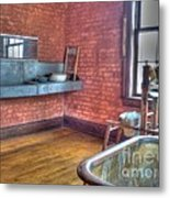 Prisoner's Bath And Laundry Metal Print