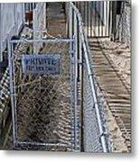 Private Entrance Metal Print