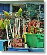 Private Property Metal Print