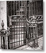 Private Stairway  Metal Print