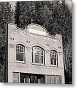 Private Wilkeson Town B And W Metal Print