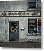 Pro Alignment And Repairs Metal Print