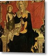 Probably Artista Veneziano, Madonna Metal Print by Everett