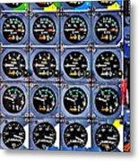 Concorde Controls Metal Print