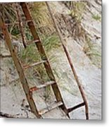 Proceed With Caution Metal Print