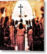 Procession Of Light Metal Print by Kevyn Bashore