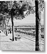 Promenade Metal Print