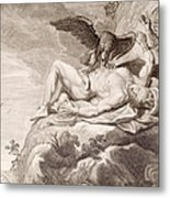 Prometheus Tortured By A Vulture Metal Print