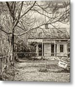Promoting The Obvious - Paint Bw Metal Print